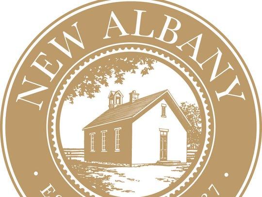 New Albany seal