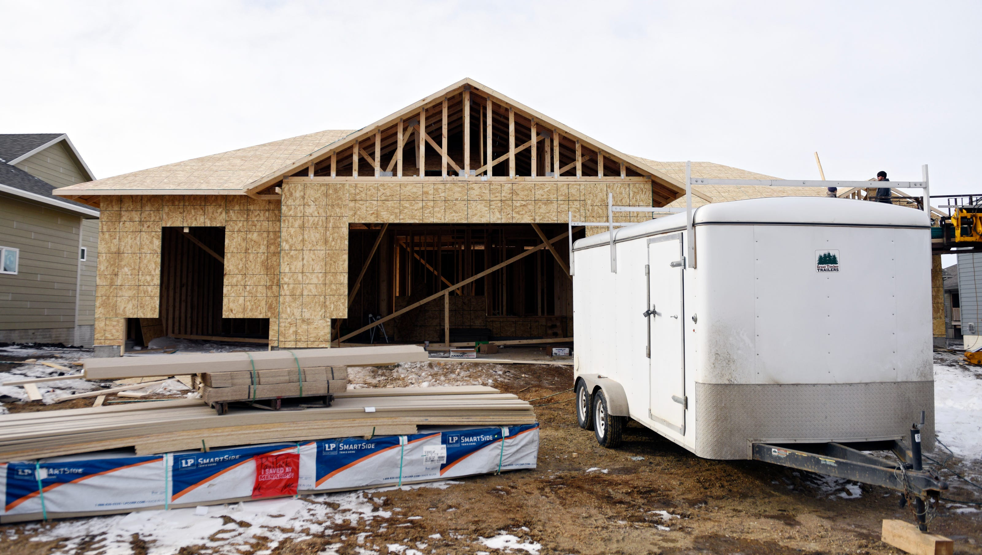 Home Building S Big Year More Construction Higher Prices