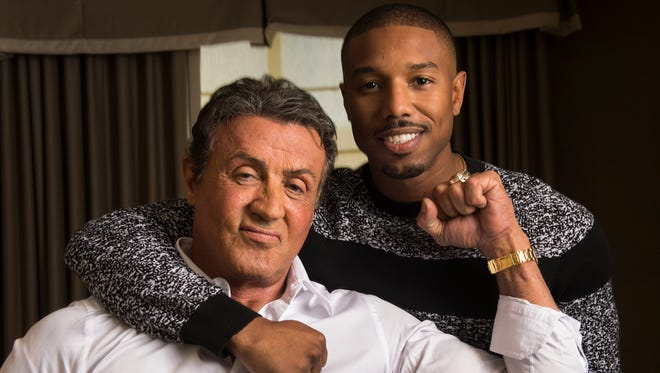 Sylvester Stallone (as Rocky Balboa) and Michael B. Jordan (Adonis Johnson) are back in 'Creed II,' out this November. Stallone shared fan art for the film on his Instagram account.