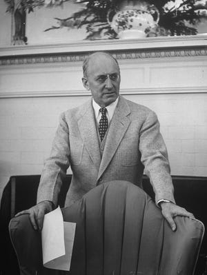 Treasury Secretary Henry Morgenthau attends an international monetary conference in 1944 in Bretton Woods, N.H., to plan for postwar reconstruction.