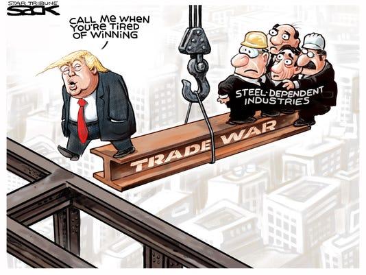 Cartoon: Trade War