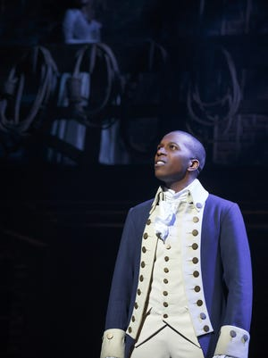 Leslie Odom Jr. as Aaron Burr, the man who shot Alexander Hamilton. Leslie Odom Jr. as Aaron Burr, the man who shot Alexander Hamilton.