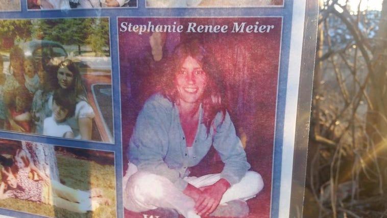 Memorial setup for Stephanie Meier the homeless woman