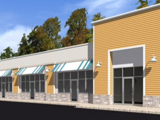 An artist's rendering shows planned renovations for