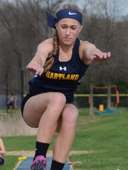 Ashlyn Shudick can compete in a variety of events for Hartland.