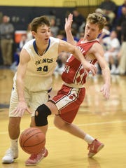 Alex Yeager, left, and the Northern Lebanon boys are headed to both the Lancaster-Lebanon League and District 3 Class 4A playoffs.