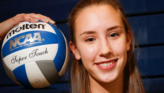 Walter Panas High School Volleyball Player of the Year