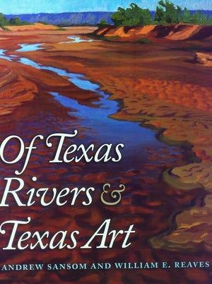 """Of Texas Rivers & Texas Art"" book cover"