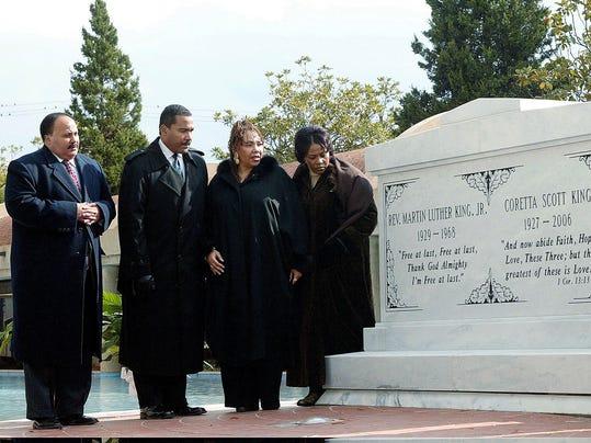 Martin King, Dexter King, Yolanda King, Bernice King