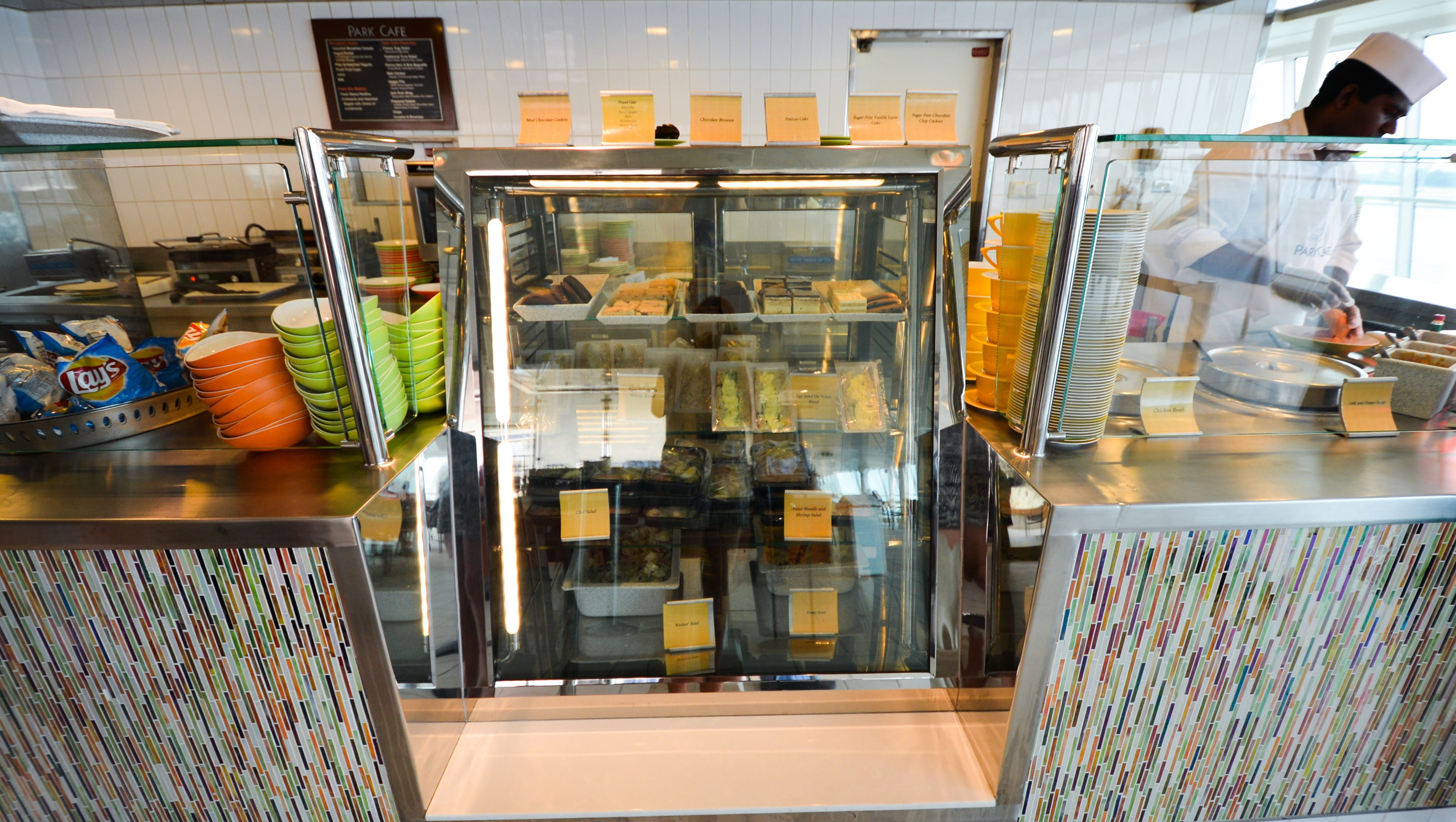 The Solarium is home to the new Park Cafe, which serves soups and made-to-order sandwiches.