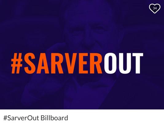 Sarver billboard