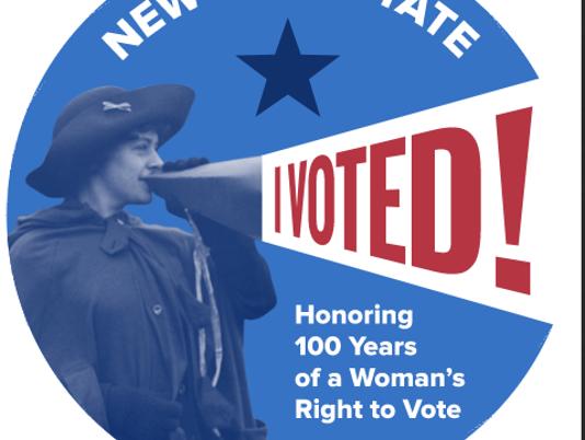 """I Voted"" sticker"