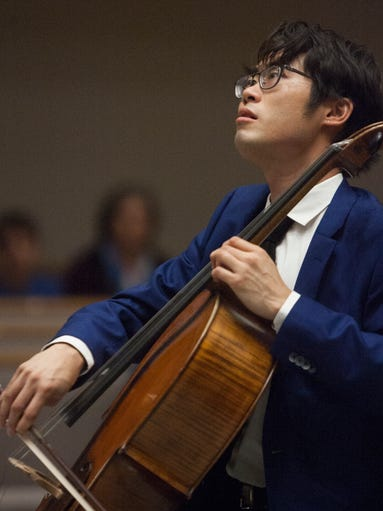 Cellist Yoshika Masuda plays Chopin's Sonata in G Minor