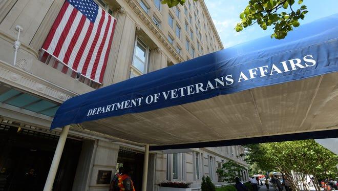 The Department of Veterans Affairs headquarters in Washington, D.C.