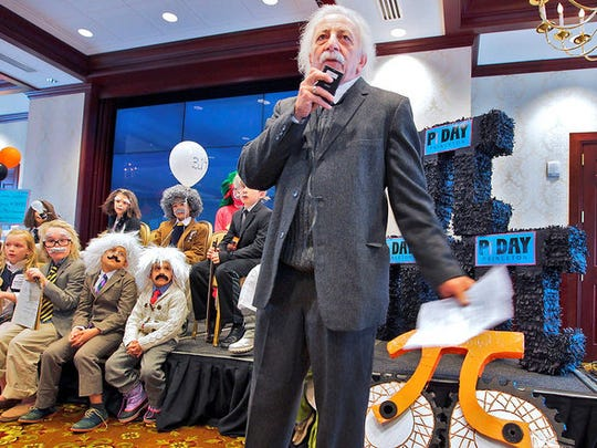 Einstein lookalikes will be among the fun at Pi Day Princeton through March 14.
