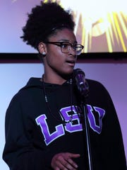 Khaya Northcross, a junior at KIPP Nashville Collegiate High School, is one of three finalists hoping to become the 2017 Nashville youth poet laureate.