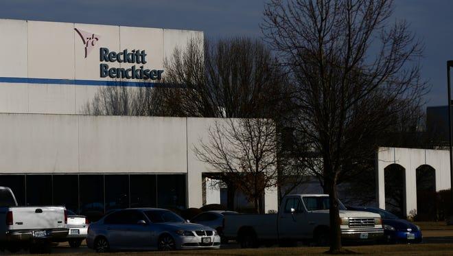 The Reckett Benckiser plant in Springfield.