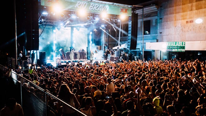The seventh annual Neon Desert Music Festival will take over the streets of Downtown El Paso on Saturday and Sunday.