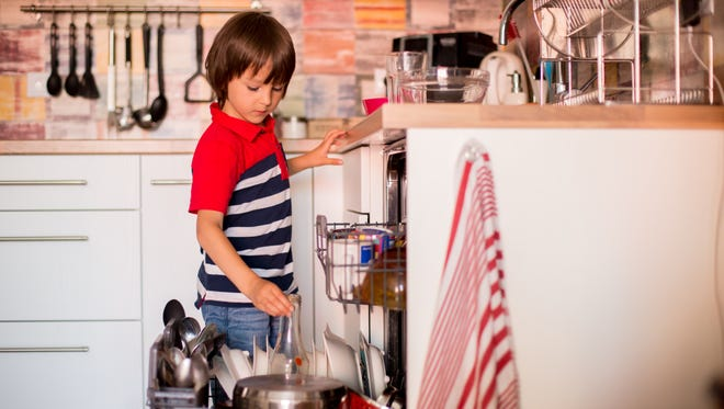 Should you pay your kids to do things around the house?