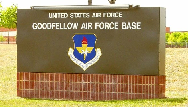 Goodfellow Air Force Base is located in San Angelo, Texas.