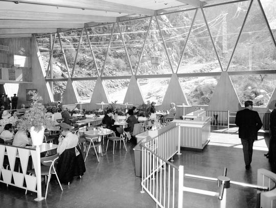Dining room of Tramway Valley Station.