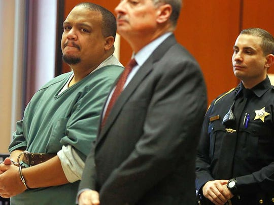 Bloomfield police officer Orlando Trinidad was sentenced to five years in prison.