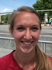 Sydney Clute, IU pole vaulter from Center Grove