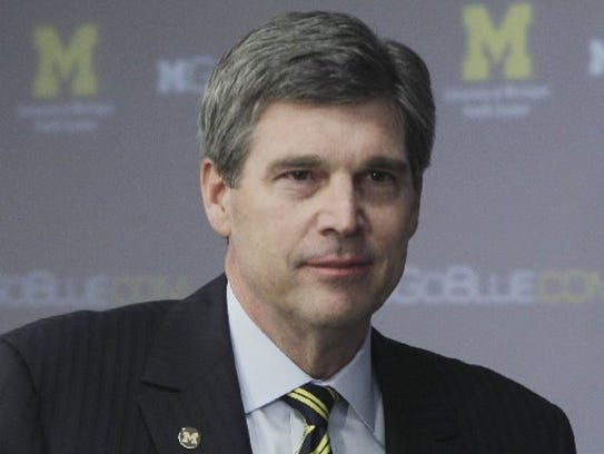Former Michigan athletic director Dave Brandon is the