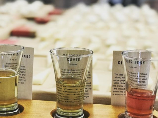 Redhead Creamery pairs cheese with local ciders at