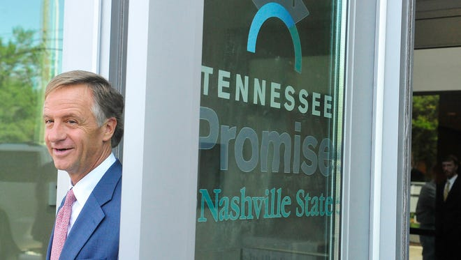 Gov. Bill Haslam and the state won an award Wednesday in Chicago for pushing programs such as Tennessee Promise.