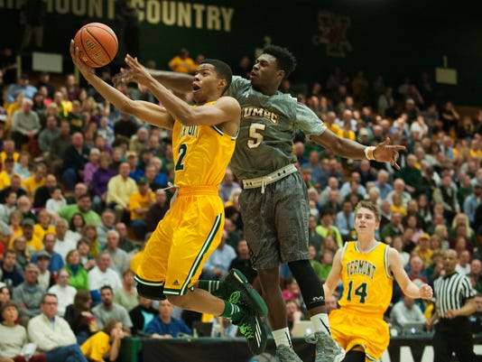 UMBC vs. Vermont Men's Basketball 03/04/15