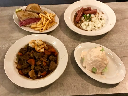 Tumulty's has done several menu changes.