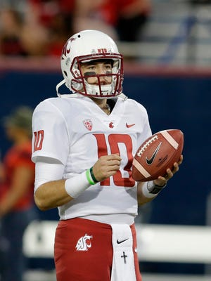 Trey Tinsley is among the candidates to succeed Luke Falk as Washington State's starting quarterback.