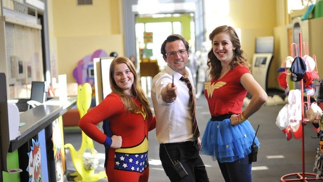 Adults and kids are encouraged to dress up as their favorite superhero or comic book character. Provided photo.