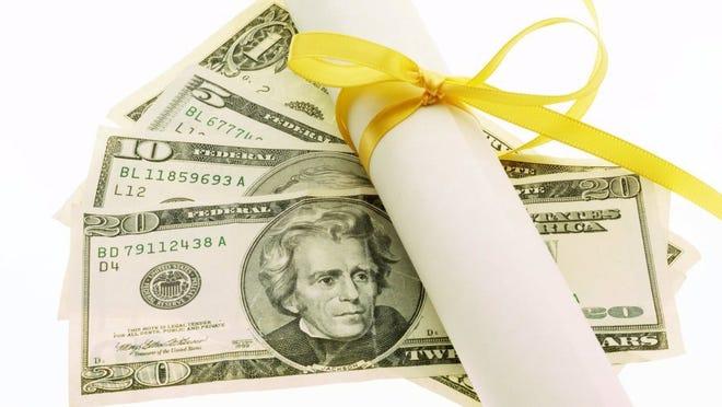 money   cash   diploma
