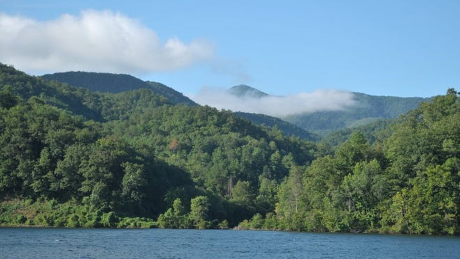 Chilhowee Lake and the Cherokee National Forest are pictured Friday, Aug. 20, 2010 near Calderwood Dam. The lake, formally called Chilhowee Reservoir, is managed by the Tapoco Division of Alcoa Power Generating Inc.