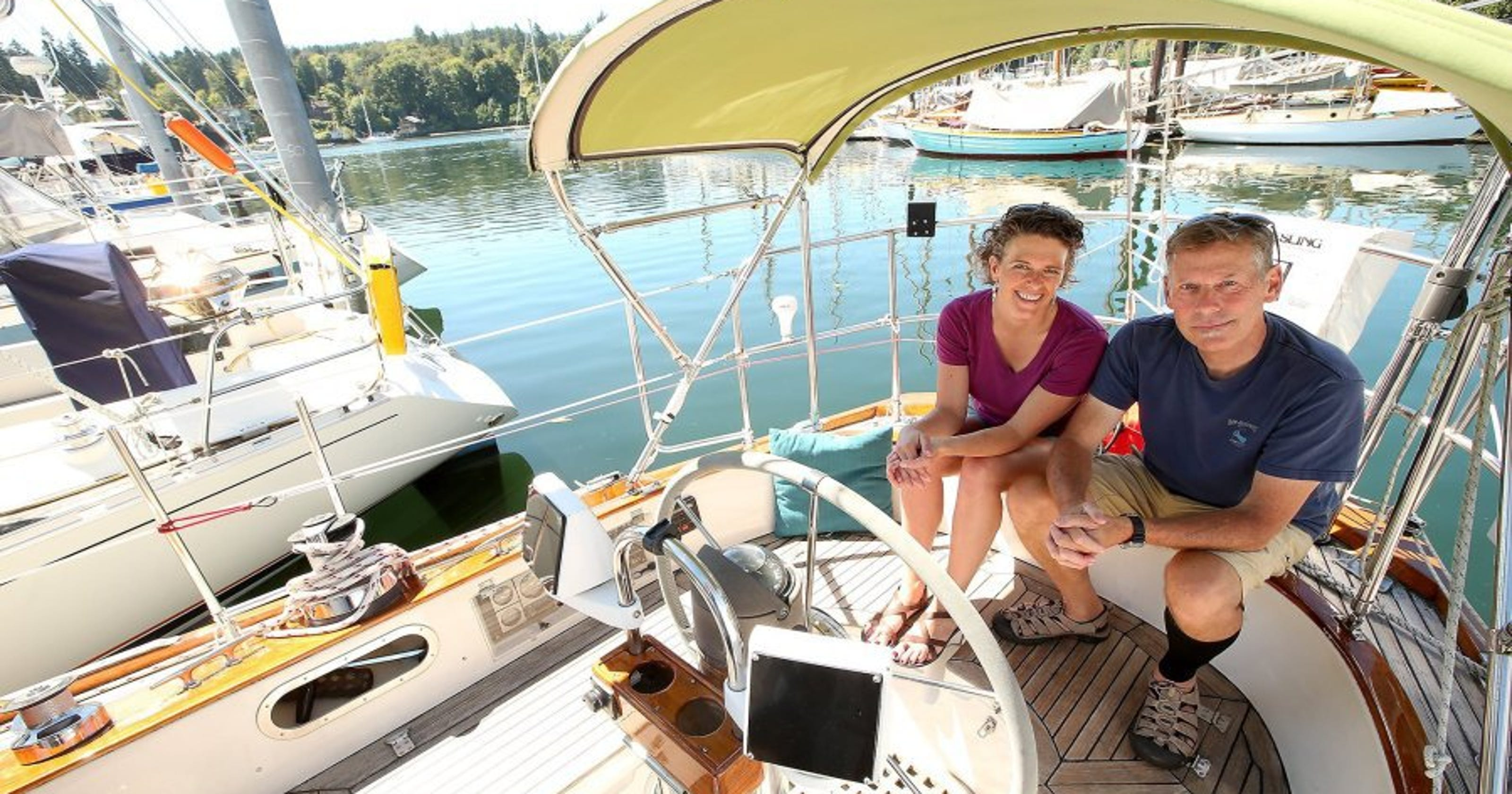 Sailboat owners say ahoy to airbnb guests