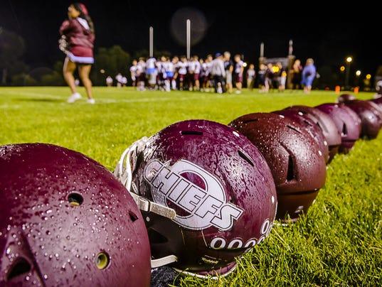 High School Football Practice-Day 1