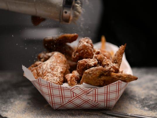 39 crack chicken 39 is a lansing trademark for Fish fry lansing