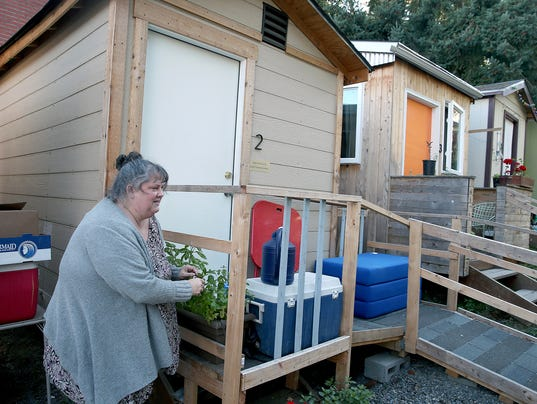 Tiny Houses For Homeless Promising Not A Panacea