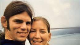 Jason Allen, left, of Zeeland, Michigan, and Lindsay Cutshall, of Fresno, died in a 2004 shooting on a Jenner, California, beach.  Tribune file photo Contributed  Jason Allen (left) of Zeeland, Mich., and Lindsay Cutshall of Fresno, Ohio died in a 2004 shooting on a Jenner, Calif. beach.