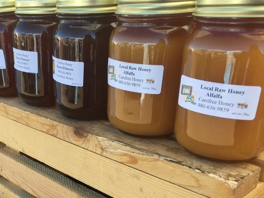 Carefree Honey is among the vendors at Farmers Market
