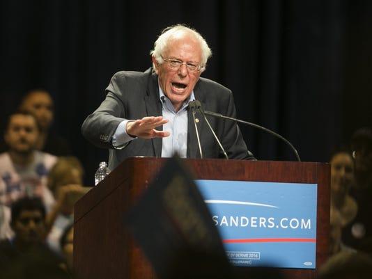 Democrat Bernie Sanders rally in Phoenix