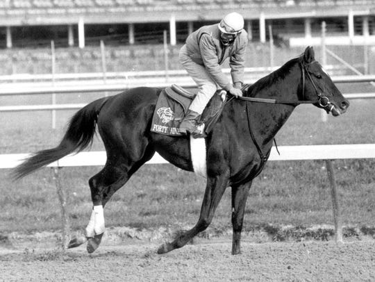 Forty Niner was the first horse to win the Haskell
