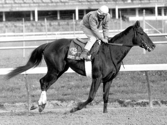 Forty Niner was the first horse to win the Haskell and the Travers Stakes at Saratoga, doing it in 1988.