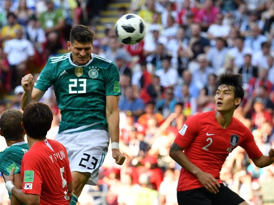 Alemania insistió pero no pudo perforar la meta surcoreana.