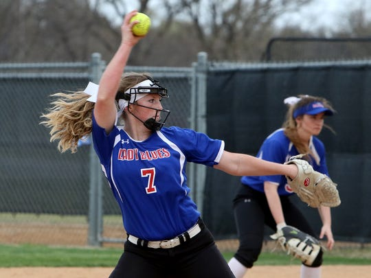 Graham's Emma Southerland is one of the area's top returning players this season after winning 26 games as a sophomore.
