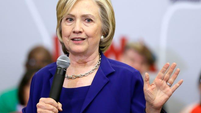 Hillary Clinton (Charlie Neibergall, AP)