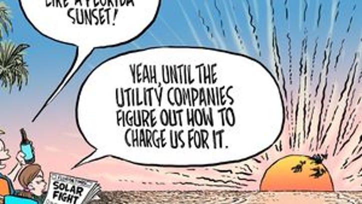Marlette: Capitalism shines after solar sham fails