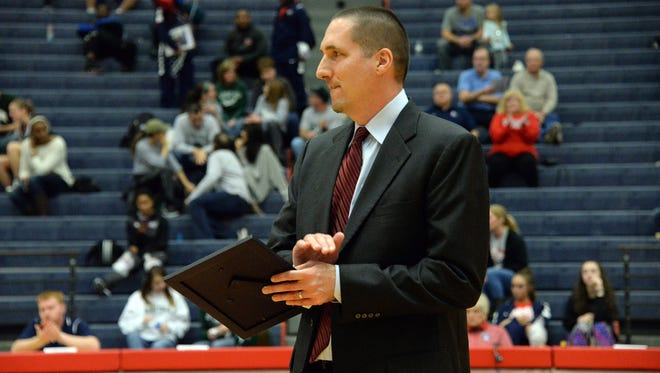 Shippensburg coach Chris Fite has turned around the Red Raider program. SU is 15-0 heading into a big home game Wednesday vs. East Stroudsburg.